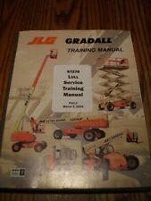 Jlg Gradall St276 Lull Telehandler Forklift Electric Amp Hydraulic Service Manual