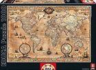 Educa Borras 15159 Antique World Map Puzzle (1000-piece)