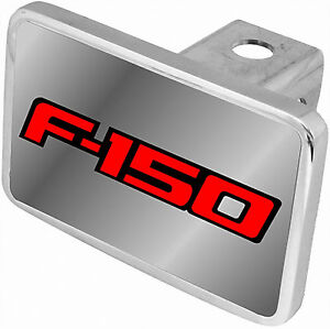 CarBeyondStore Ford F-250 Black Trim Billet Aluminum Tow Hitch Cover