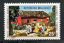 STAMP / TIMBRE DE MADAGASCAR NEUF N° 488 ** JOURNEE DU TIMBRE 1971 POSTE RURALE