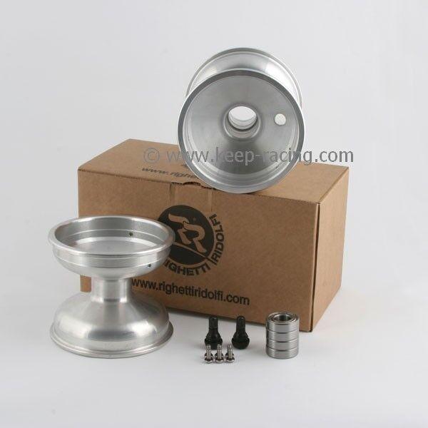 5 Zoll Aluminiumfelgen Satz (2 Stück) 125mm Felgensicherung 17mm Aufnahme