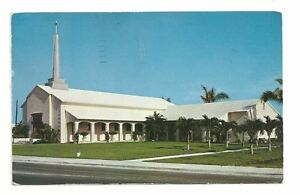FORT-LAUDERDALE-FL-Church-By-The-Sea-Vintage-Postcard