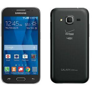 Galaxy core prime sm g360v verizon smartphone cell phone page plus