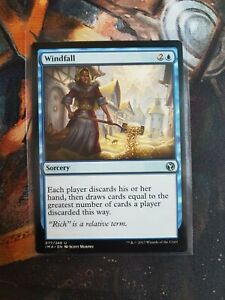 Windfall Iconic Masters 1x MTG NM x1 FOIL