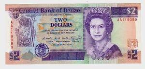 Belize-2-1990-FDS-UNC-pick-52a-lotto-1893
