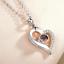 Collana-Ti-Amo-Donna-I-Love-You-in-100-Lingue-Ologramma-Cuore-Coppia-Fidanzati miniatura 12