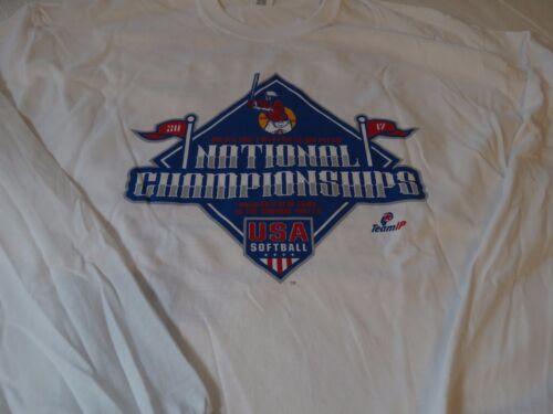 2017 National Championship USA softball Gildan XL long sleeve T shirt Mens adult