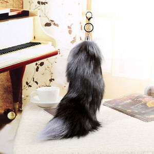 KQ-ITS-CO-Fox-Fur-Tail-Keyring-Key-Chain-Tassel-Bag-Handbag-Camping-Purse-Acc