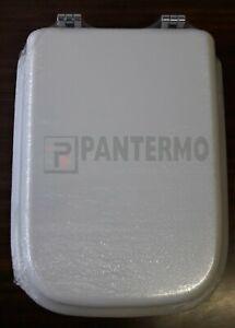 Sedile Wc Copriwater Bianco Ideal Standard Conca.Sedile Wc Legno Copriwater Conca Ideal Standard Duccio Senesi Bianco M0500f2 Ebay
