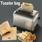 Reusable Non Stick Toaster Bags Toastie Sandwich Bread Toast Pockets 2 Size