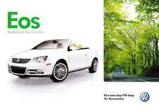 2010 10 VW EOS Accessories oiginal  brochure