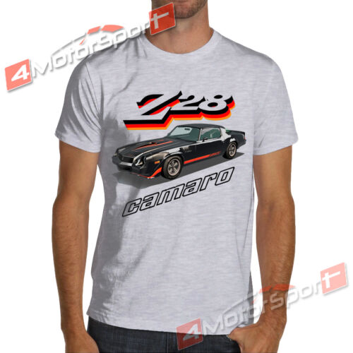 Black 1979 Camaro Z28 White or Gray T-Shirt