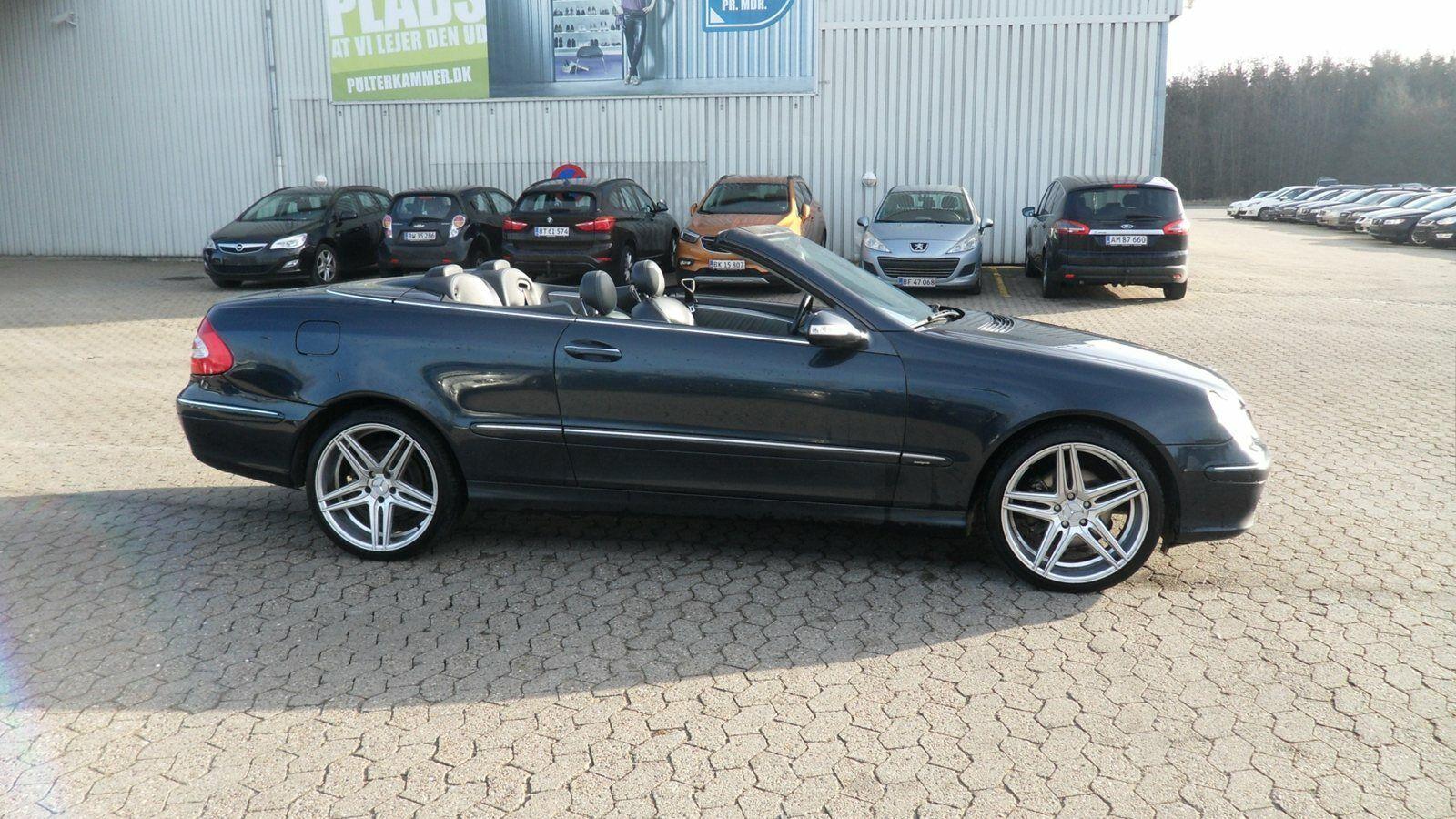 Mercedes CLK320 3,2 Cabriolet Avantgarde aut. 2d