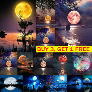 Moon-Lake-Night-Full-Drill-DIY-5D-Diamond-Painting-Embroidery-Cross-Stitch-Kit