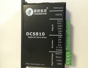 NEW Digital DC Brush Servo Drive 80VDC//20A Leadshine DCS810   free shipping