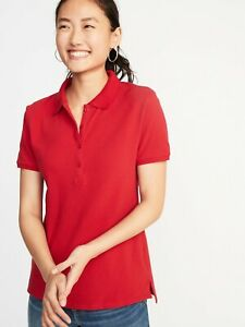 Details about NWOT: old navy Uniform Pique Polo for Women (M-tall)
