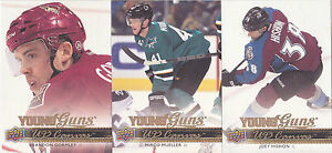 14-15-Upper-Deck-Joey-Hishon-UD-Canvas-Young-Guns-Rookie-Avalanche-2014