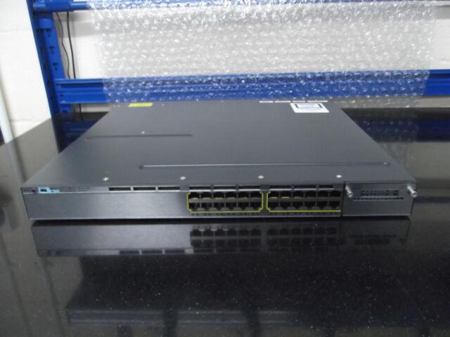 Cisco Catalyseur WS-C3750X-24T-L 24 Port Gig Interrupteur Avec PSU 350WAC