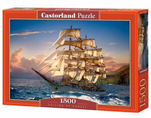 Castorland C-151431-2 - Sailing At Sunset, Puzzle 1500 Teile - Neu