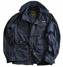"Alpha Industries Feldjacke ""Unit"" Soft Light Weight Nylon 111115 07 rep blue M"