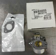 JOHN DEERE Kohler Carburetor AM132119 for STX30 and STX38 12.5 HP engines only