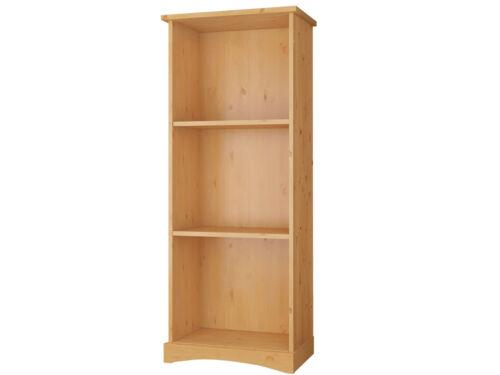 Regal Bücherregal Standregal Aktenregal Büroregal Landhaus Kiefer weiß braun