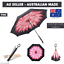 Upside-Down-Windproof-Inverted-Reverse-C-Handle-Folding-Umbrella-With-Carry-Bag thumbnail 2