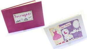 Saffron Hen Night Party Girl Night Wedding Marriage Gift Pink Album