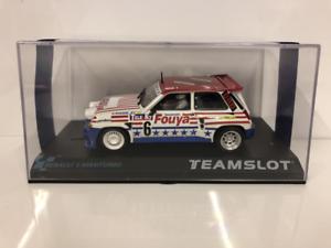 Place d'équipe 12107 Renault 5 Maxi Turbo Fuoya à l'échelle 1:32, neuve, en boîte