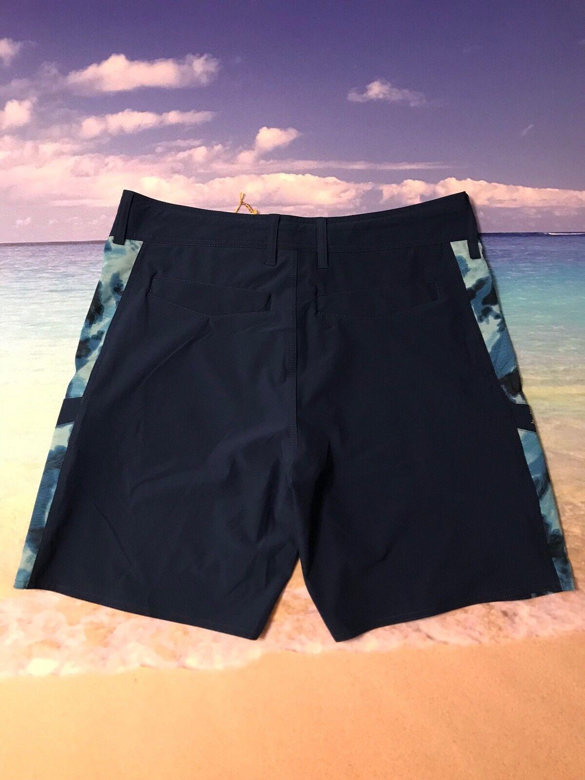 New Aftco Fishing Shorts Size 34 Mens Fish Swim Pelagic Original Boardshorts