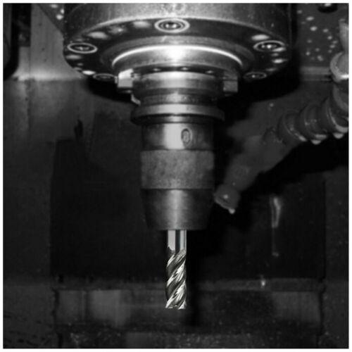 """Extra Long HSS End Mill Cutter Milling Cut Bit 1//8/"""" 3//16/"""" 1//4/"""" 5//16/"""" 3//8/"""" 1//2/"""""""