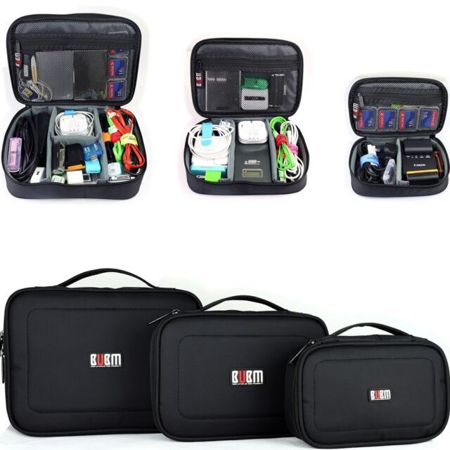3 x Organizer Storage Carry Bag Case For USB flash drive cable memory card power