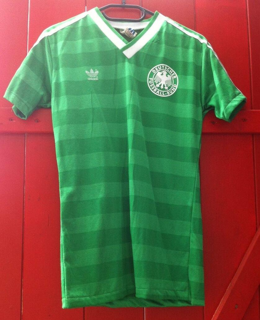 DFB Deutschland Adidas Oldschool Oldschool Oldschool Trikot WM 1986 Away gr.S Made in West Germany 09221b