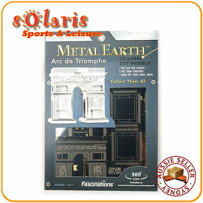 Metal Earth Arc De Triomphe 3D Metal  Model Tweezer  010237