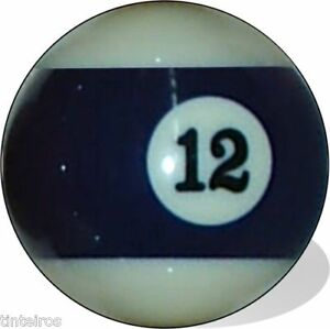 No-12-Pool-Ball-Single-New-Replacement-Twelve-Free-Ship