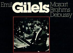 EMIL-GILELS-Mozart-Brahms-debusy-1973-PRAGA-Spring-Music-Festival-LP-L5800