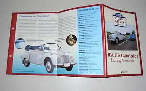 Datenblatt-IFA-F9-Cabriolet-Cabrio-Lust-auf-Stromlinie-DDR-Kult-Atlas-Neu
