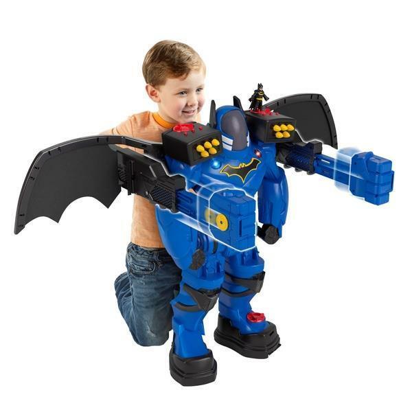 DC Batbot Batman Robot Action Figure Fighter New Imaginext Large 2Ft Tall Kids
