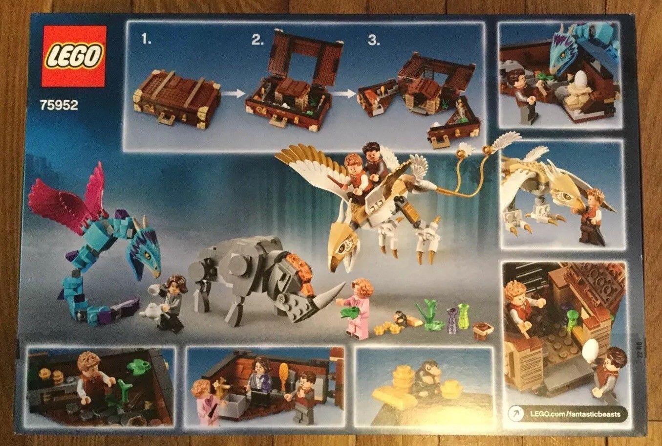 Lego 75952 fantástico Besteias Tritón caso de criaturas mágicas 694 un. Nuevo