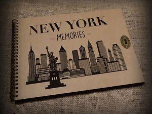 New-York-Memories-Scrapbook-Family-Photo-Album-Travel-Book-Gift-Idea