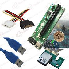 20 Pk PCI-E USB 3.0 riser for GPU mining Altcoin peercoin litecoin ethereum Dash