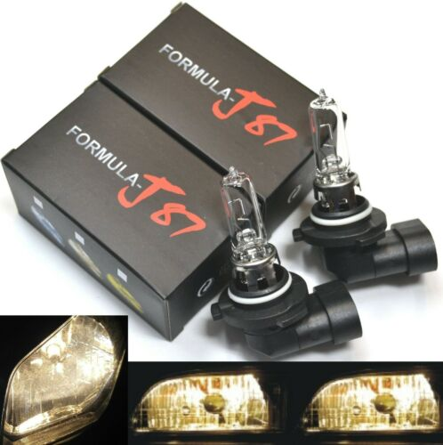 Details about  /Halogen 9005 HB3 65W 3800K Stock Two Bulbs Head Light High Beam Plug Lamp OE Fit