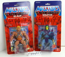 MOTU, Commemorative He-Man & Skeletor, MISB, MOC, box, sealed, carded, figure