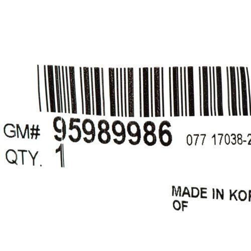 OEM NEW Rear Trunk Lid LTZ Emblem Badge Nameplate Chrome 11-16 Cruze 95989986