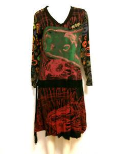 Vestido-034-DESIGUAL-034-talla-XL-mangas-largas