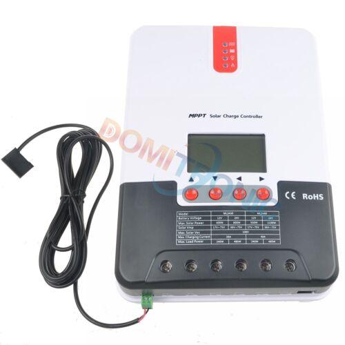 MPPT Solar Charge Controller 40A 30A 20A Battery Regulator 12V//24V Power Charger