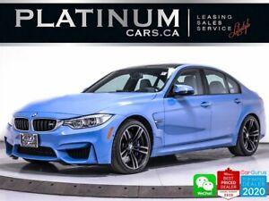 2017 BMW M3 425HP, PREMIUM, NAV, HEATED, HARMON KARDON