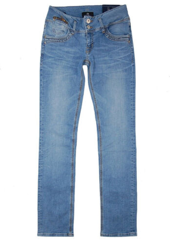 LTB Jeans Jonquil 5346 Slim Fit W25-W32 L32 Damen Stretch Hose Light Blue Used