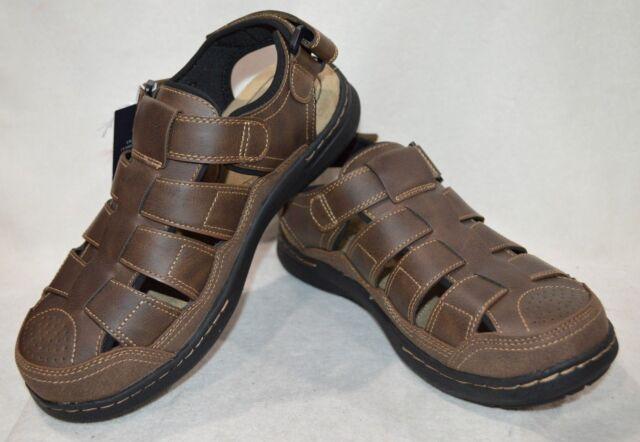 666bb1af2715 Croft   Barrow® Men s Soprano Brown Ortholite Fisherman Sandals-Sz 9 10