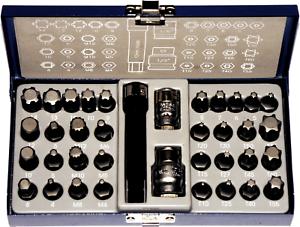 37-Piece-Torx-Spline-Ribe-amp-Hex-Bit-Set